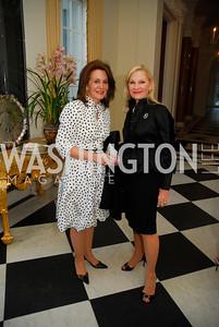 Dianne Morris,Susan Pillsbury,April 11,2012,Reception for Dame Jillian Sackler at The Residence of the British Ambassador,Kyle Samperton