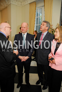 Joe Duffy,Rt.Hon .William Hague,Sir Peter Westmacott,Dame Jillian Sackler,April 11,2012,Reception for Dame Jillian Sackler at The Residence of the British Ambassador,Kyle Samperton
