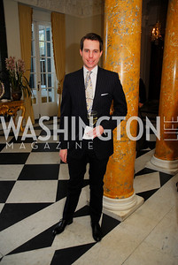 Adam Ozmer,April 11,2012,Reception for Dame Jillian Sackler at The Residence of the British Ambassador,Kyle Samperton