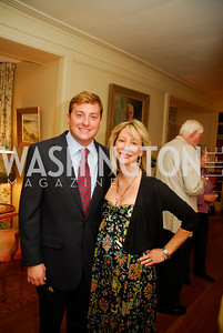 Andrew Adler,Nancy Margaret,April 25,2012,Reception for Georgetown House Tour,Kyle Samperton