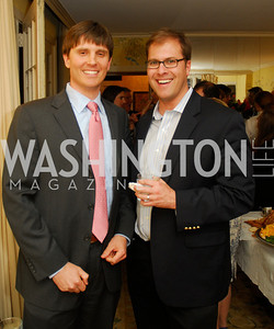 Carl Beker,Jesse Levine,April 25,2012,Reception for Georgetown House Tour,Kyle Samperton