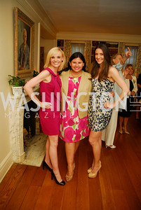 Andrea Rogers,Cheryl Romero,Kate Michel,April 25,2012,Reception for Georgetown House Tour,Kyle Samperton