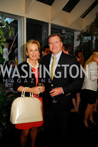 Fabiola Martens,Jim Bell,April 25,2012,Reception for Georgetown House Tour,Kyle Samperton