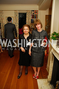 Sally Bechara,Rosemary Caponio,,April 25,2012,Reception for Georgetown House Tour,Kyle Samperton