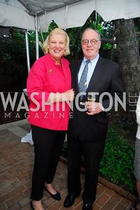 Ingola Hodges,Terry Matz,April 25,2012,Reception for Georgetown House Tour,Kyle Samperton