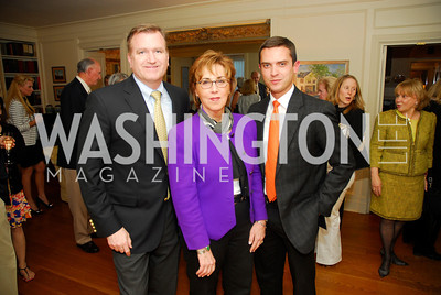 Jim  Bell,Sheila Mooney,Eric Tomilson,,April 25,2012,Reception for Georgetown House Tour,Kyle Samperton