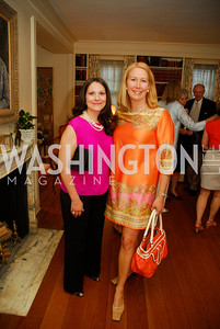 Dima Zalatimo,Renee Esfandiary Crupi,April 25,2012,Reception for Georgetown House Tour,Kyle Samperton