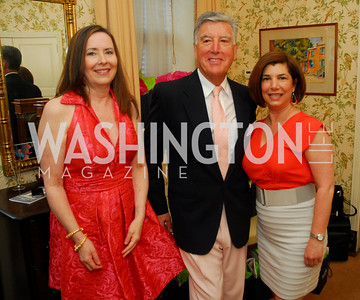 Stephanie Bothwell,Frank Randolph,Constance Christakos,April 25,2012,Reception for Georgetown House Tour,Kyle Samperton