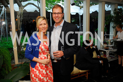 Liz Levin,Jesse LevinApril 25,2012, Reception for Georgetown House Tour,Kyle Samperton