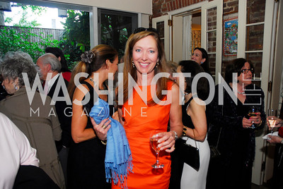 Cathy Kerkam,April 25,2012,  Reception for Georgetown House Tour,Kyle Samperton