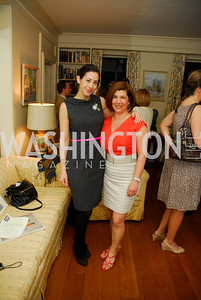 Rachel Cothran,Constance Christakos,April 25,2012,Reception for Georgetown House Tour,Kyle Samperton