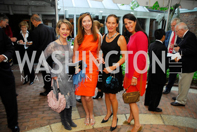 Katherine Tallmidge,Cathy Kerkam,Sarah Williams,Debbie Winsor,April 25,2012,Reception for Georgetown House Tour,Kyle Samperton