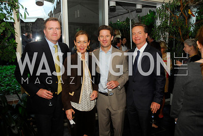 Jim  Bell,Kristin Muhlner,Greg Muhlner,Martin Gorman,,April 25,2012,Reception for Georgetown House Tour,Kyle Samperton