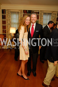 Allison Patula,Chris Patula,April 25,2012,Reception for Georgetown House Tour,Kyle Samperton