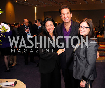 Lisa Anastos,Marc Adelman,Kim Kauffman,March 26,2012,Reception at J Street National  Gala,Kyle Samperton