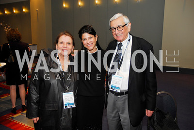 Barabara Kohl Spiro,Marci Rosenberg,Herzl Spiro,March 26,2012,Reception at J Street National  Gala,Kyle Samperton