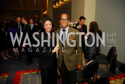 Lisa Anastos,Jonathan Capehart,March 26,2012,Reception at J Street National  Gala,Kyle Samperton