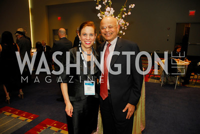 Judith Barnett,Natwar Ghandi,March 26,2012,Reception at J Street National  Gala,Kyle Samperton