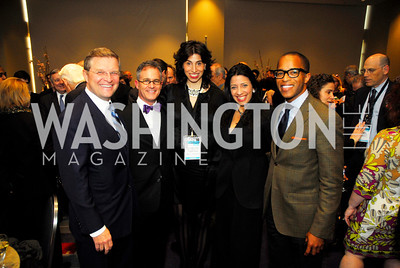 Ed McClellan,Michael Shea,Alexandra Stanton,Lisa Anastos,Jonathan Capehart,March 26,2012,Reception at J Street National  Gala,Kyle Samperton