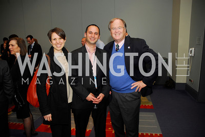 Caitie Baldwin, Hadar Susskind,Rep.Sam Farr.March 26,2012,Reception at J Street National  Gala,Kyle Samperton