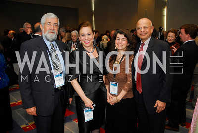 Amra Mizna,Judith Barnett,Aviva Kemper,Natwar Ghandi,March 26,2012,Reception at J Street National  Gala,Kyle Samperton