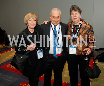 Marilyn Katz,Bill Singer.Liz Hollander,March 26,2012,Reception at J Street National  Gala,Kyle Samperton