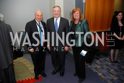 Bill Singer,Sen Dick Durbin,Rep.Carol Shea Porter,March 26,2012,Reception at J Street National  Gala,Kyle Samperton