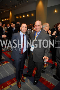 Daniel Levy,Izhar Armony,March 26,2012,Reception at J Street National  Gala,Kyle Samperton