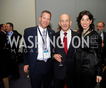 Kirk Rudy,Ehud Olmert,Alexandra Stanton,March 26,2012,Reception at J Street National  Gala,Kyle Samperton