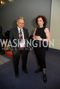 Mort Halperin,Jo-Ann Mort,March 26,2012,Reception at J Street National  Gala,Kyle Samperton