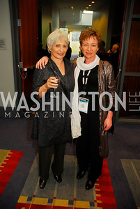 Lisa Olmert,Ruth Kissane,March 26,2012,Reception at J Street National  Gala,Kyle Samperton