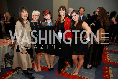 Vered Fischer,Shamaya Gilo,Agi Gilo,,Ronnie Schonzet,Yael Gilo,March 26,2012,Reception at J Street National  Gala,Kyle Samperton