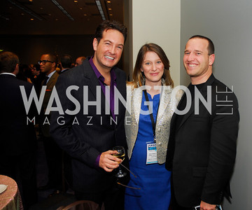 Marc Adelman,Hildy Kuryk,Mickey Bergman,March 26,2012,Reception at J Street National  Gala,Kyle Samperton