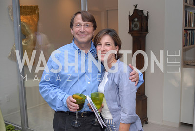 David Vise,Lori Vise,June 15,2012,Reception for Larry Kramer,Kyle Samperton