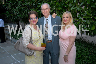 Molly Smith,George Vradendurg,Trish Vradenburg,June 15,2012,Reception for Larry Kramer,Kyle Samperton