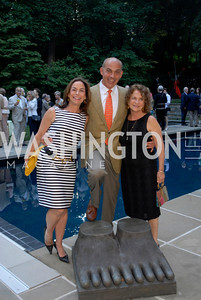 Melissa Moss,Jonathan Silver,Bonnie Scherschow,,June 15,2012,Reception for Larry Kramer,Kyle Samperton