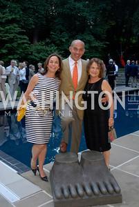 Melissa Moss,Jonathan Silver,Bonnie Scherschow,,June 15,2012,Reception for Larry Kramer,Kyle Samperton