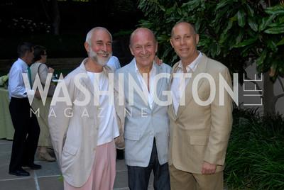 David Webster,Victor Shargai,Craig Pascal,June 15,2012,Reception for Larry Kramer,Kyle Samperton