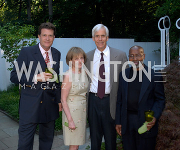 Bill Stetson,BeBe Jones,Bo Jones,Lou Stovall,June 15,2012,Reception for Larry Kramer,Kyle Samperton