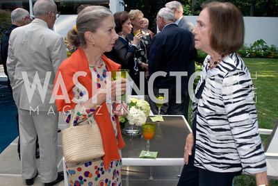 Candy Berler,Betty Ann Ottinger,June 15,2012,Reception for Larry Kramer,Kyle Samperton