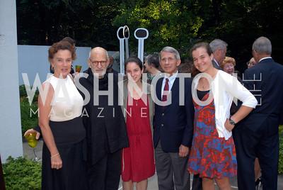 Christine Grady,Larry Kramer,,Megan Fauci,Anthony Fauci,Alison Fauci,June 15,2012,Reception for Larry Kramer,Kyle Samperton