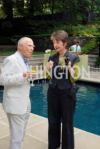 David  Berler, Dorothy Kosinski,June 15,2012,Reception for Larry Kramer,Kyle Samperton