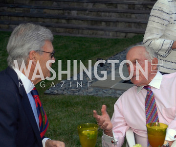 Stuart Bernstein,Donald Brown,June 15,2012,Reception for Larry Kramer,Kyle Samperton