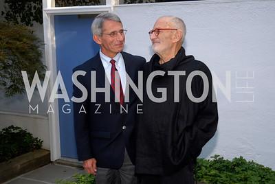 Anthony Fauci,Larry Kramer,June 15,2012,Reception for Larry Kramer,Kyle Samperton