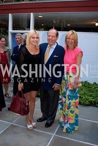 Tatiana Dubin,Richard Dubin,Robin Avram,June 15,2012,Reception for Larry Kramer,Kyle Samperton