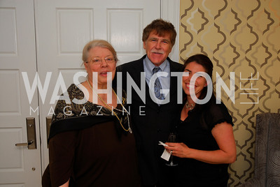 Suzanne Peck,Paul Peck, Courtney Carlson,April17,2012,Reception for The  Museum of the American Revolution ,Kyle Samperton