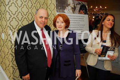 Robert Rosenberg,Mariyn Rosenberg,April17,2012,Reception for The  Museum of the American Revolution ,Kyle Samperton