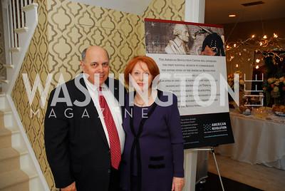 Robert Rosenberg,Marilyn Rosenberg,April17,2012,Reception for The  Museum of the American Revolution ,Kyle Samperton