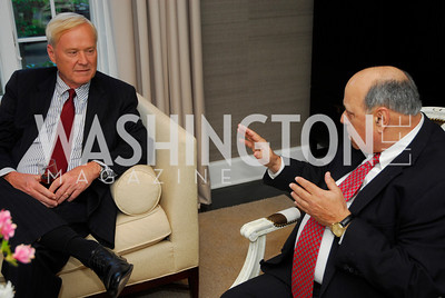 Chris Matthews, Robert Rosenberg,April17,2012,Reception for The  Museum of the American Revolution ,Kyle Samperton