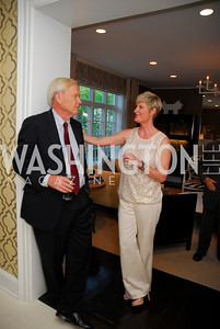 Chris Matthews,Kristin Snow,April17,2012,Reception for The  Museum of the American Revolution Kyle Samperton
